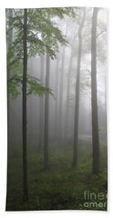 Sunrise Fog Beach Towel