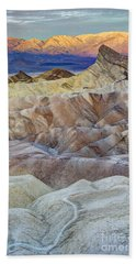 Sunrise In Death Valley Beach Towel