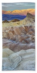 Sunrise In Death Valley Beach Towel by Juli Scalzi