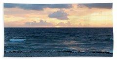 Beach Sheet featuring the photograph Sunrise In Deerfield Beach by Rafael Salazar