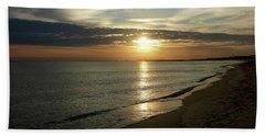 Sunrise In Norfolk Va Beach Towel