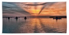Sunrise Kayaking Beach Towel