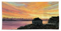 Sunrise Long Beach Rockport Ma Beach Towel