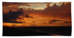 Beach Sheet featuring the photograph Sunrise  by Mim White