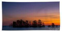 Sunrise On Lake Mattamuskeet Beach Towel