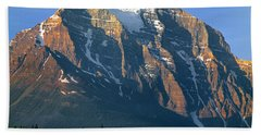 1m3518-sunrise On Mt. Temple Beach Towel