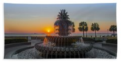Sunrise Over Charleston Beach Sheet