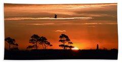 Sunrise Over Fenwick Island Beach Towel
