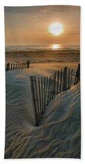 Sunrise Over Hatteras Beach Towel