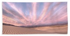 Sunrise Over Sand Dunes Beach Towel