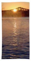 Sunrise Over Table Rock Beach Sheet