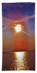 Beach Towel featuring the photograph Sunrise Over The Big Mac by Daniel Thompson