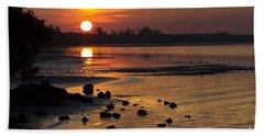 Sunrise Photograph Beach Sheet