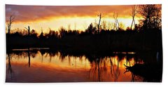 Sunrise Thanksgiving Morning Beach Towel