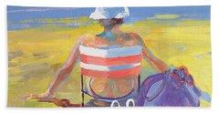 Sunseeker, 2005 Oil On Board Beach Towel