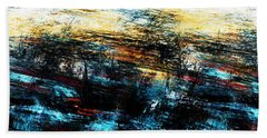 Beach Sheet featuring the digital art Sunset 083014 by David Lane
