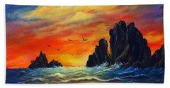 Sunset 2 Beach Sheet