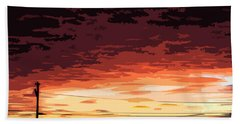 Sunset Alternative Beach Towel