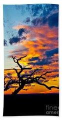 Sunset At Enchanted Rock Beach Sheet