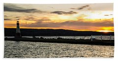 Sunset At Myers Beach Sheet