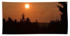 Sunset At Owl's Head Beach Sheet