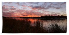 Sunset Bliss Beach Towel by Lourry Legarde