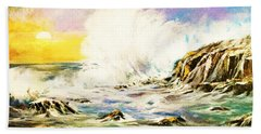 Sunset Breakers Beach Sheet