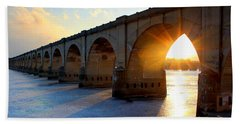 Sunset Bridge Beach Sheet