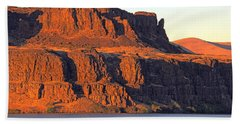 Sunset Cliffs At Horsethief  Beach Towel