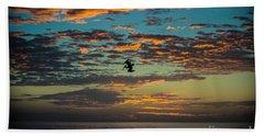 Sunset Dive Beach Towel