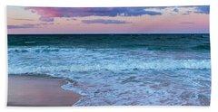 Sunset East Square Beach Towel