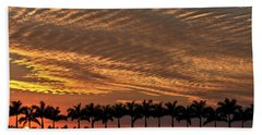 Sunset Florida Beach Towel