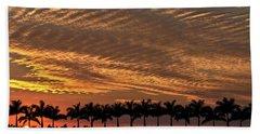 Sunset Florida Beach Sheet