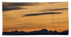 Sunset From 567 Beach Towel