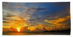 Sunset In Paradise - Beach Photography By Sharon Cummings Beach Towel