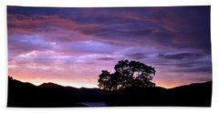 Sunset Lake Beach Sheet by Matt Harang