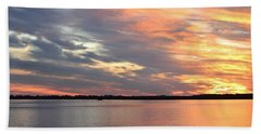 Sunset Magic Beach Towel by Cynthia Guinn