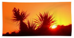Sunset Near Castle Rock Beach Towel