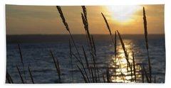 Sunset On Cayuga Lake Beach Sheet