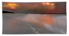 Sunset On Hilton Head Island Beach Towel