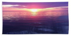 Beach Sheet featuring the photograph Sunset On The Bay by Tiffany Erdman