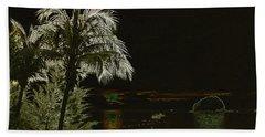 Beach Towel featuring the photograph Sunset On Tioman Island by Sergey Lukashin