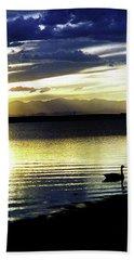 Sunset Over Aurora Beach Sheet