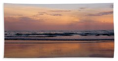 Sunset Over Long Sands Beach II Beach Towel
