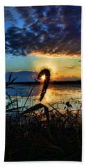Sunset Over The Refuge Beach Towel