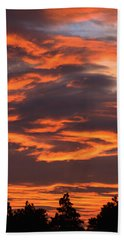 Sunset Beach Sheet by Pamela Walton