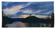 Sunset Pano - Watauga Lake Beach Sheet