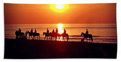 Sunset Past Time Beach Towel