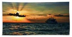 Sunset Regatta  Beach Sheet