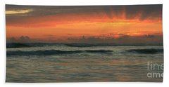 Beach Towel featuring the photograph Carlsbad Starburst by John F Tsumas